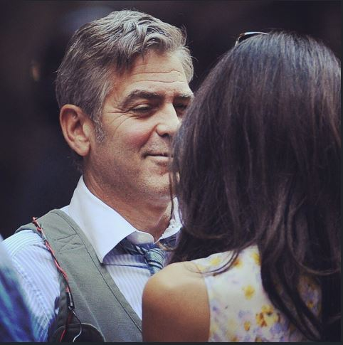 George Clooney on location: Money Monster NYC April 18, 2015 Ii310