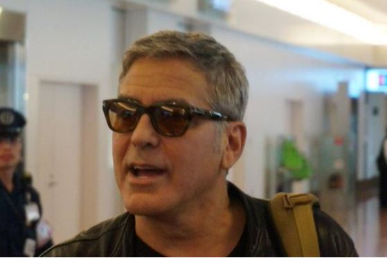 George Clooney arrived in Tokyo Japan May 24, 2015 Jj511