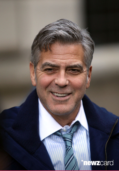 George Clooney on Money Monster Set April 10th & 11th  2015 Kk1010