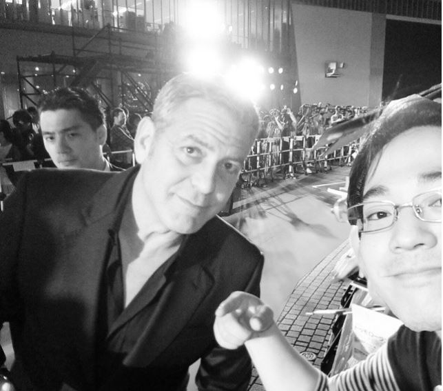 George Clooney at the Tokyo Tomorrowland Premiere 25th May 2015 Mm211
