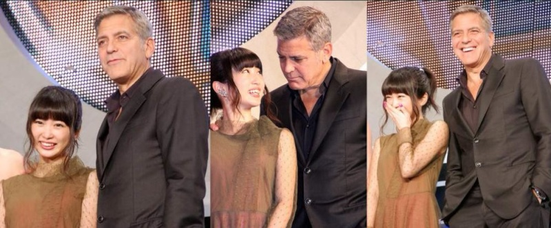 George Clooney at the Tokyo Tomorrowland Premiere 25th May 2015 Mm311