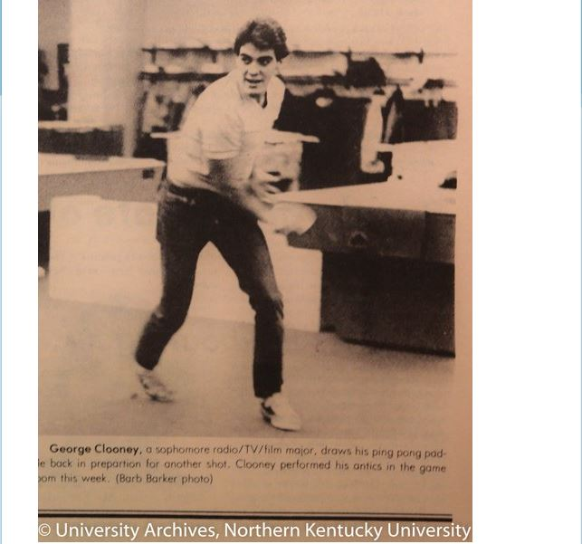 George Clooney in the NorthernerMedia 1981 - Throwback Thursday Nn210