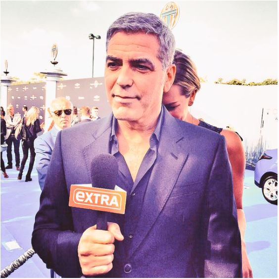 George Clooney at the TOMORROWLAND world premiere in LA Disneyland 9th May 2015 Ooo1010