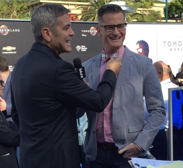 George Clooney at the TOMORROWLAND world premiere in LA Disneyland 9th May 2015 Ooo1210