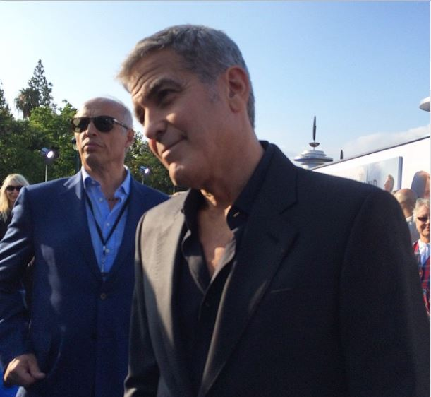 George Clooney at the TOMORROWLAND world premiere in LA Disneyland 9th May 2015 Ooo1310