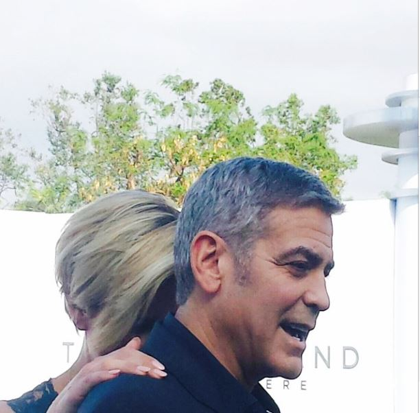 George Clooney at the TOMORROWLAND world premiere in LA Disneyland 9th May 2015 Ooo1510