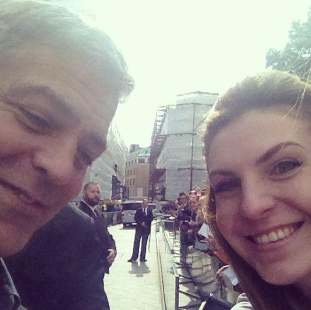 George Clooney at the Tomorrowland Premiere in London 17. May 2015 Sel210