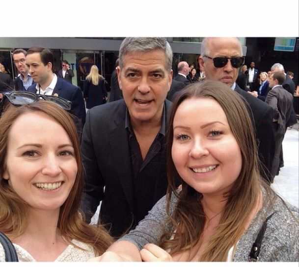 George Clooney at the Tomorrowland Premiere in London 17. May 2015 Sel510
