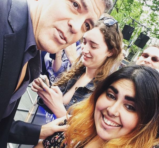George Clooney at the Tomorrowland Premiere in London 17. May 2015 Sel610
