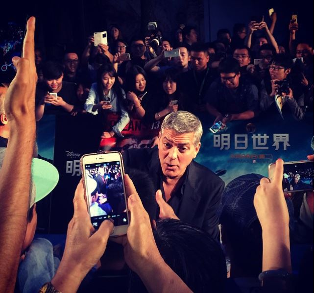 George Clooney in Shanghai Tomorrowland Premier 22. May 2015 Ss311