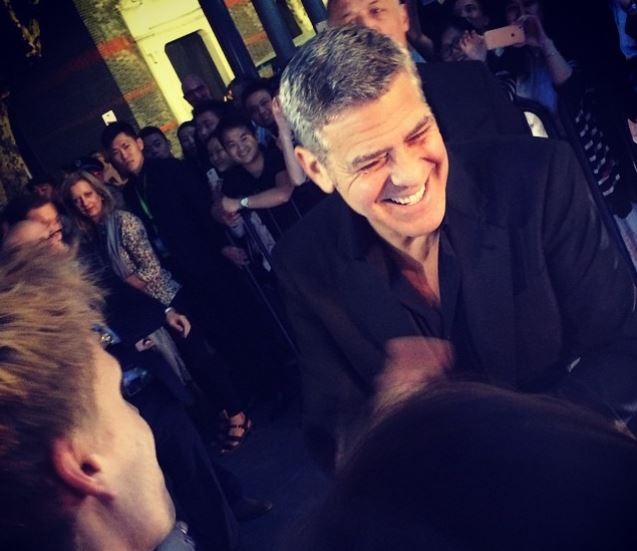 George Clooney in Shanghai Tomorrowland Premier 22. May 2015 Ss410