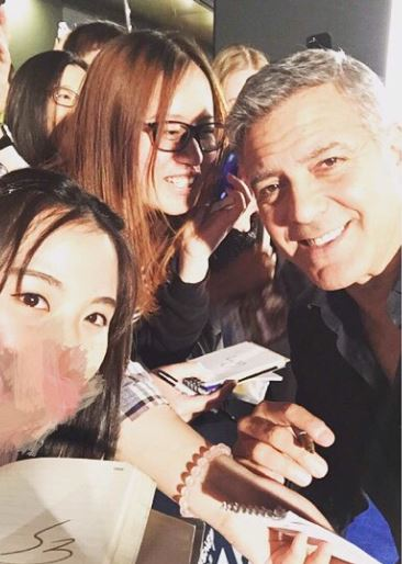 George Clooney in Shanghai Tomorrowland Premier 22. May 2015 Ss610