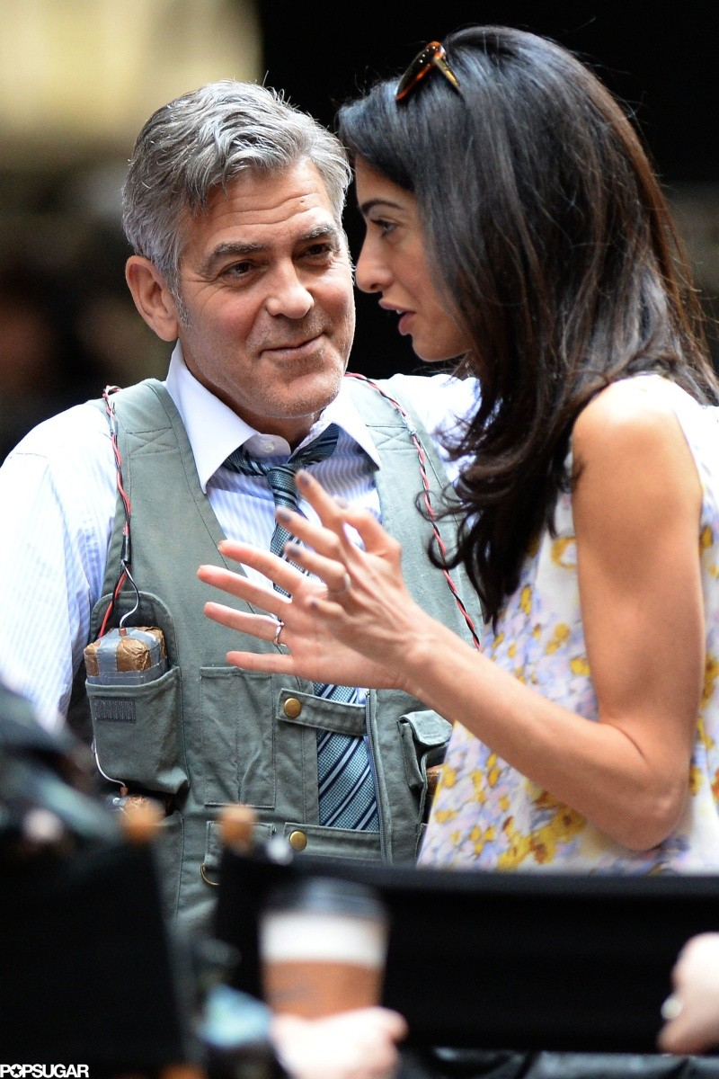 George Clooney on location: Money Monster NYC April 18, 2015 Ssss10