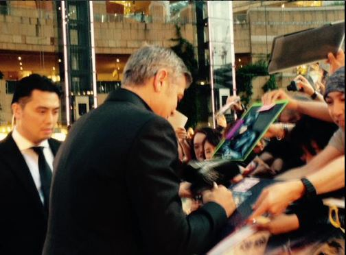 George Clooney at the Tokyo Tomorrowland Premiere 25th May 2015 Tt211
