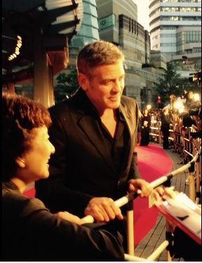 George Clooney at the Tokyo Tomorrowland Premiere 25th May 2015 Tt311
