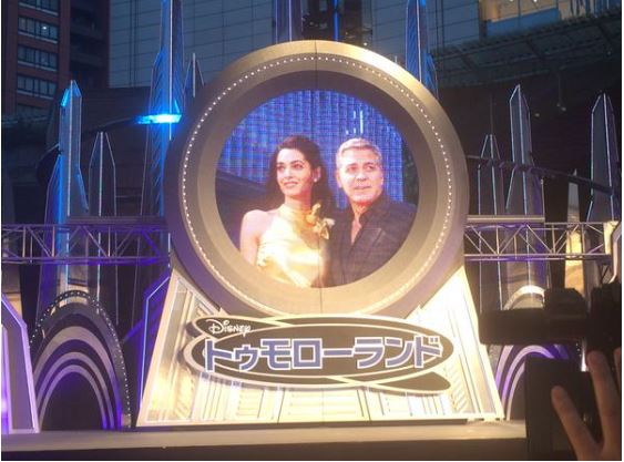 George Clooney at the Tokyo Tomorrowland Premiere 25th May 2015 Tt411