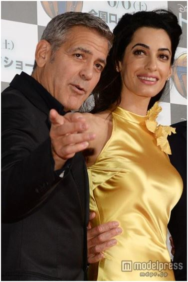 George Clooney at the Tokyo Tomorrowland Premiere 25th May 2015 Tt510