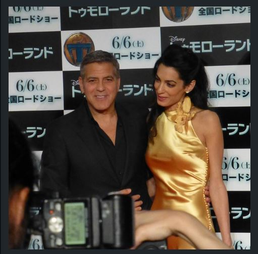 George Clooney at the Tokyo Tomorrowland Premiere 25th May 2015 Tt610