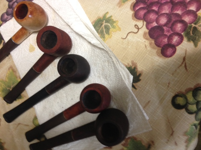 my mother picked me up some pipes Img_0311
