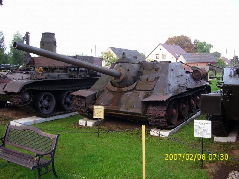 Lebuser Militärmuseum in Drzonów, Polen K800_d44