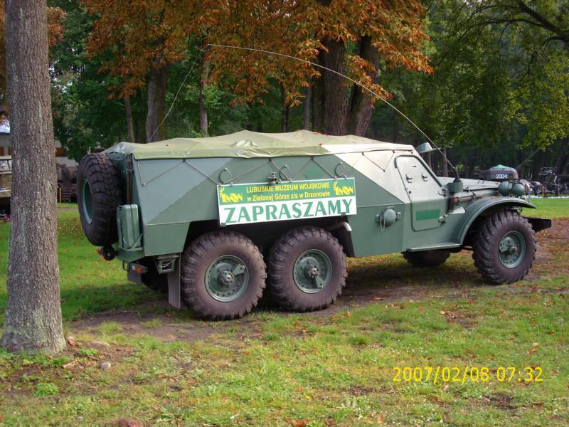 Lebuser Militärmuseum in Drzonów, Polen K800_d46