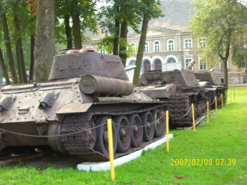 Lebuser Militärmuseum in Drzonów, Polen K800_d51