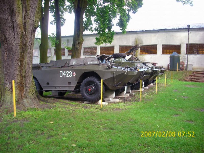 Lebuser Militärmuseum in Drzonów, Polen K800_d57