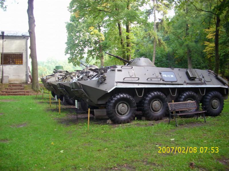 Lebuser Militärmuseum in Drzonów, Polen K800_d58