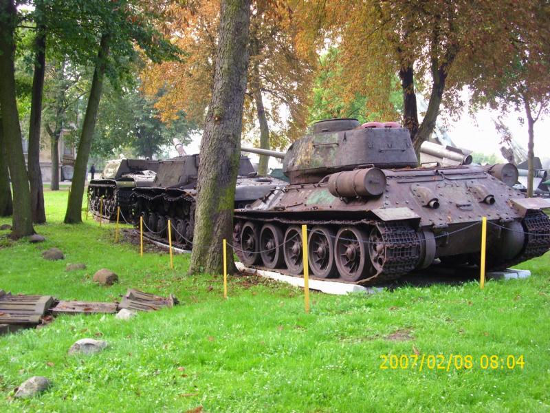 Lebuser Militärmuseum in Drzonów, Polen K800_d59