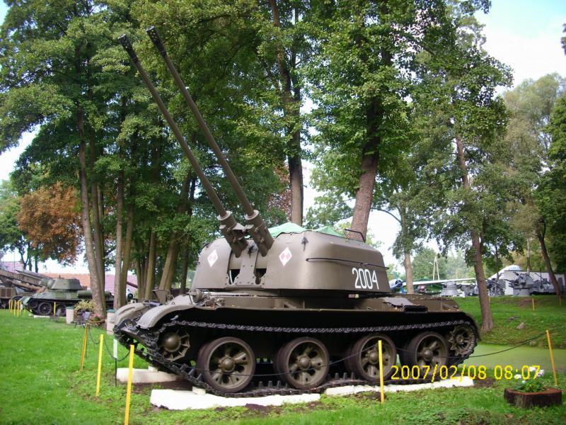 Lebuser Militärmuseum in Drzonów, Polen K800_d61