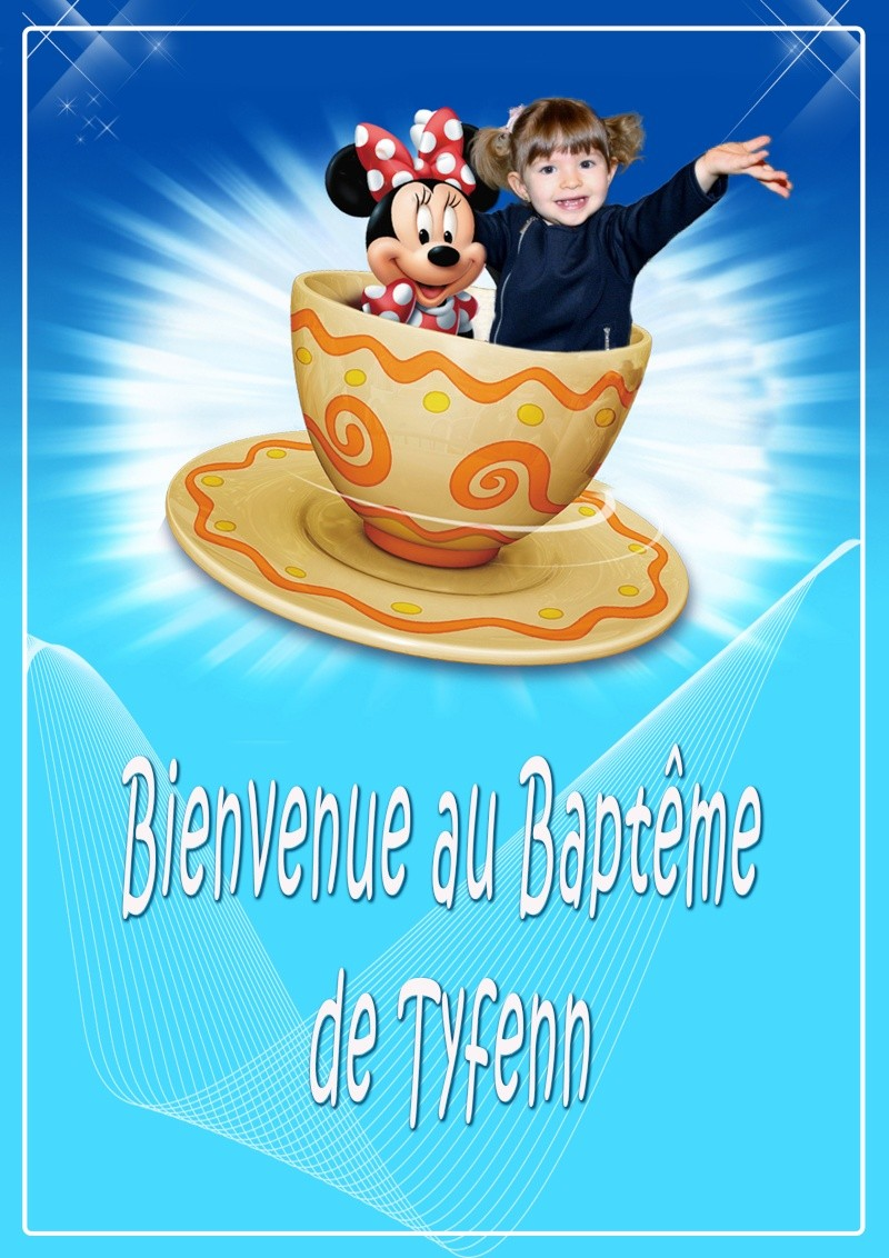 Affiches pour le baptême Bienve11