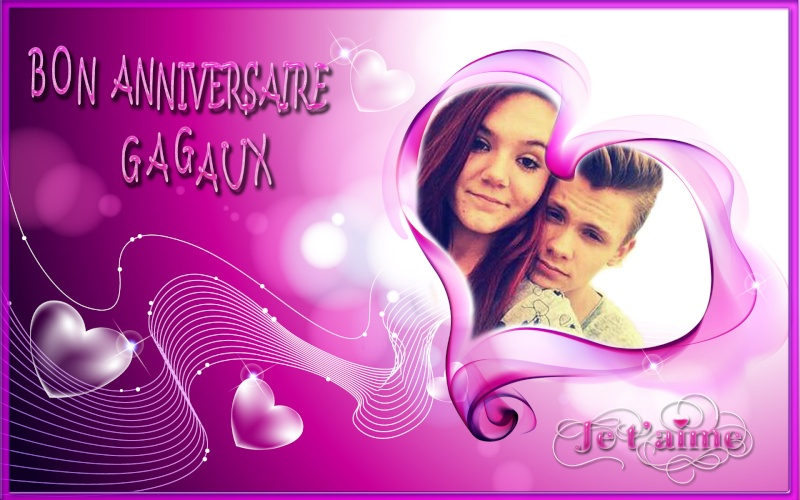 anniversaire theme Amour Heart-10