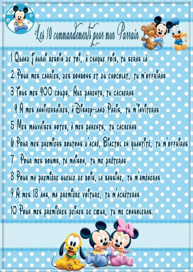 BAPTEME THEME MICKEY BABY Parrai12