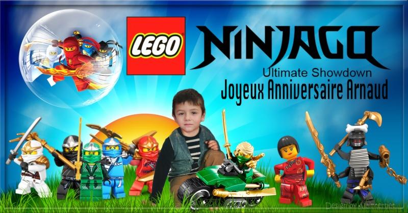 ANNIVERSAIRE THEME LEGO NINJAGO Sans_t16