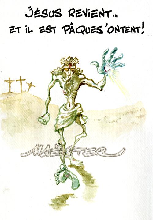 Actu en dessins de presse - Attention: Quelques minutes pour télécharger - Page 2 Jesus-10