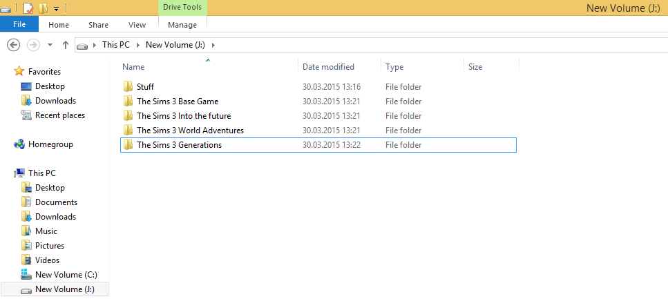 """A note on installing """"The Sims 3"""" on external drives. 211"""