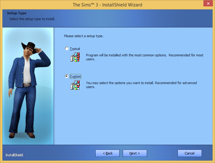 """A note on installing """"The Sims 3"""" on external drives. 310"""