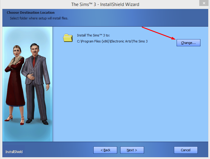 """A note on installing """"The Sims 3"""" on external drives. 410"""