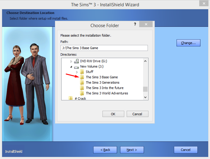 """A note on installing """"The Sims 3"""" on external drives. 510"""