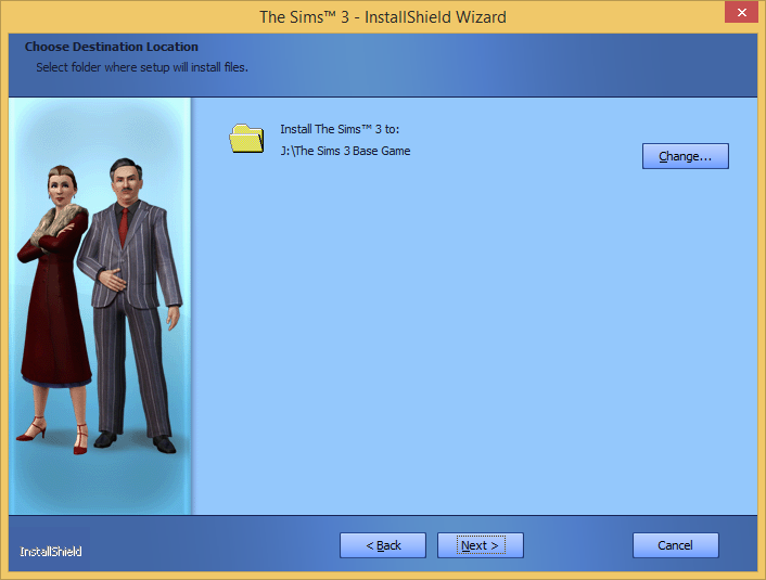 """A note on installing """"The Sims 3"""" on external drives. 610"""