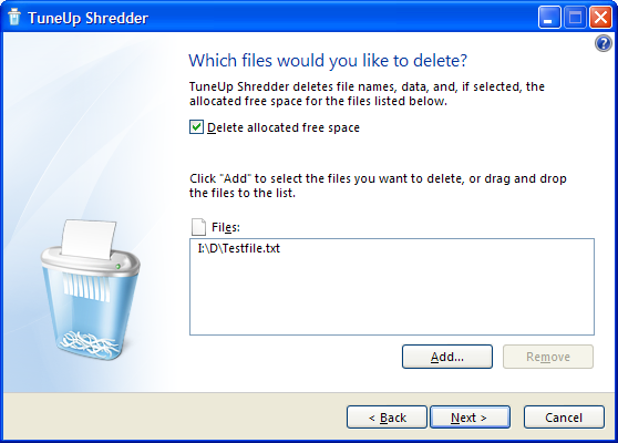 Some aspects of (secure) file deletion. Clipbo12