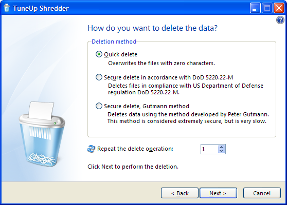 Some aspects of (secure) file deletion. Clipbo13