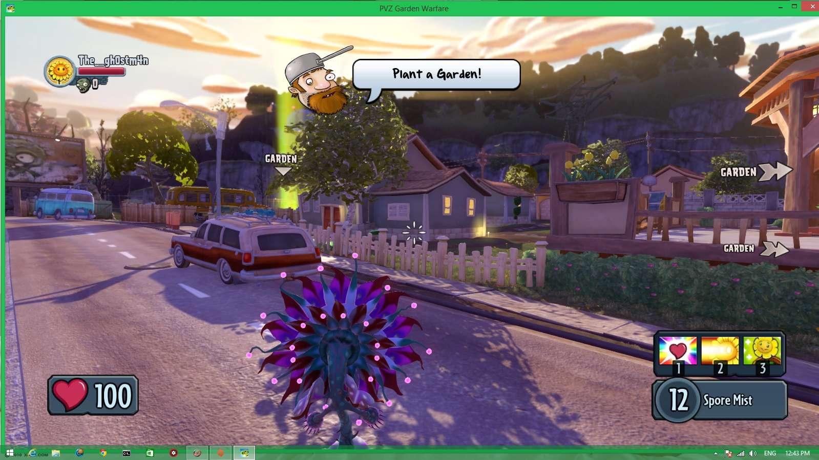 Plants vs. Zombies: Garden Warfare. Screen20