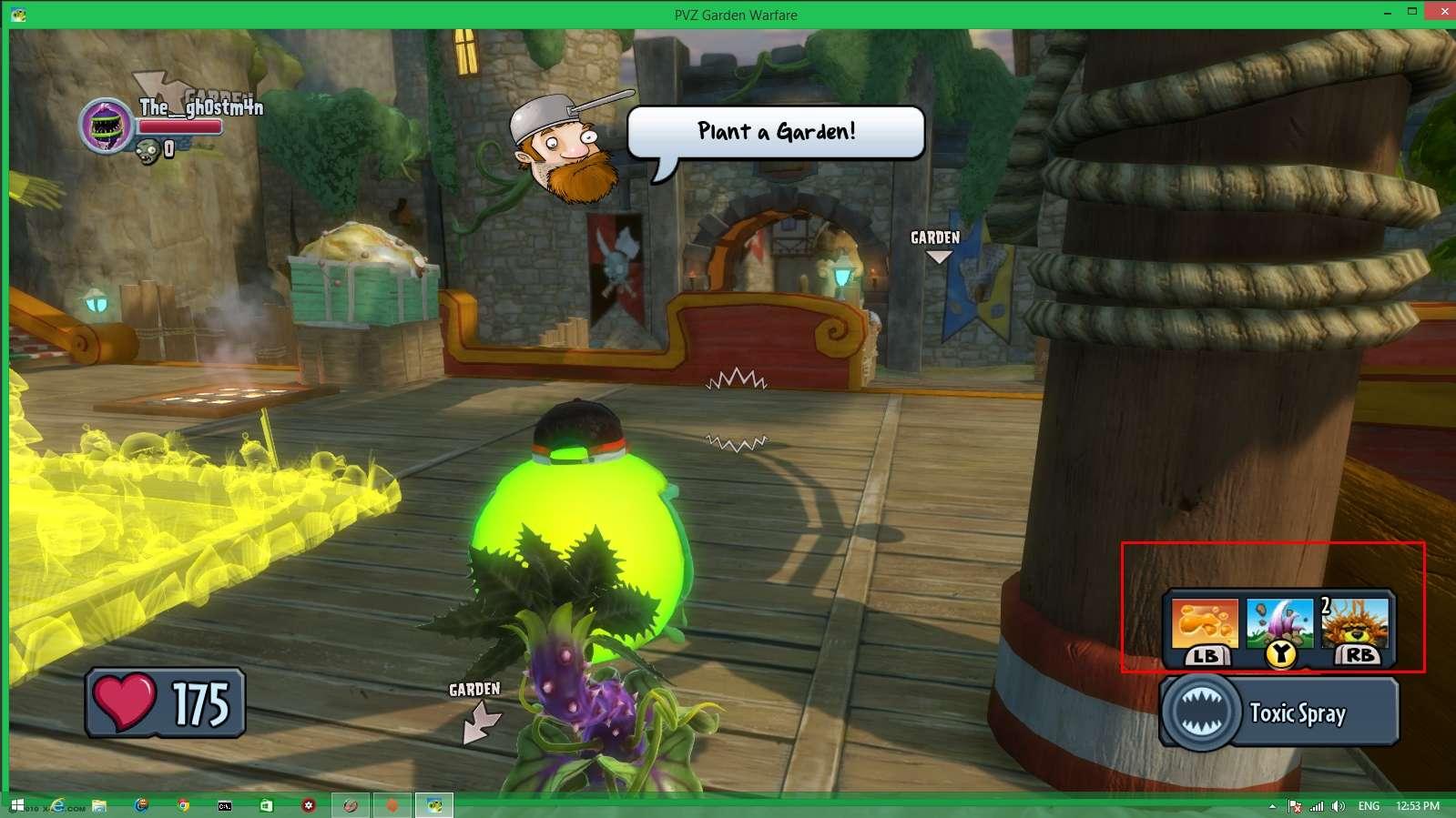Plants vs. Zombies: Garden Warfare. Screen21