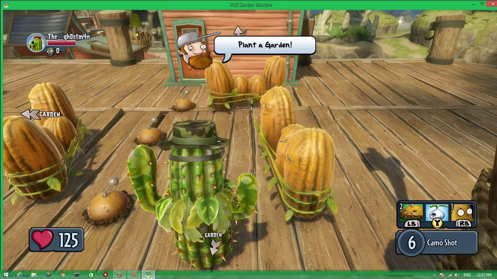 Plants vs. Zombies: Garden Warfare. Screen22