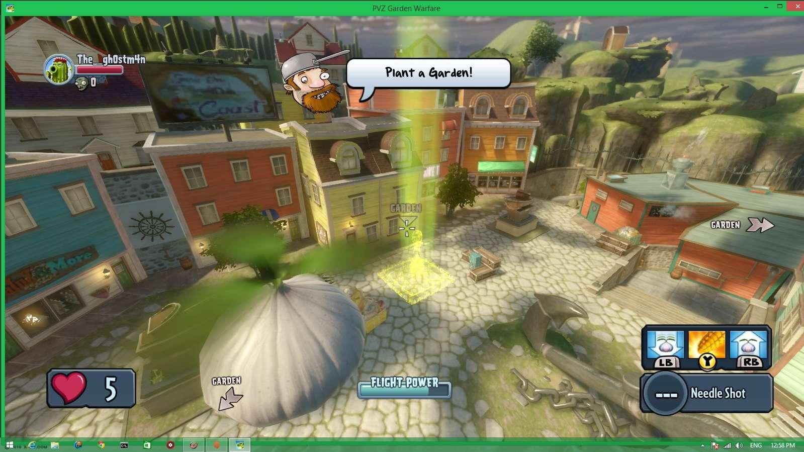 Plants vs. Zombies: Garden Warfare. Screen23