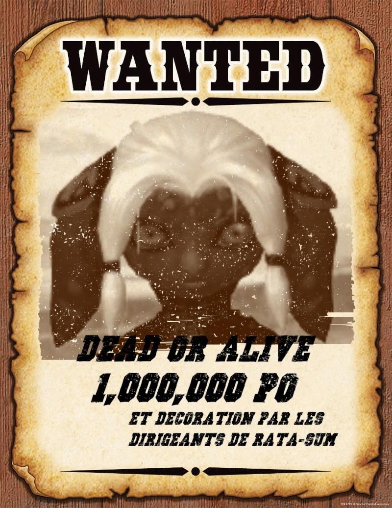 [Avis de recherche] Criminelle en vadrouille Wanted10