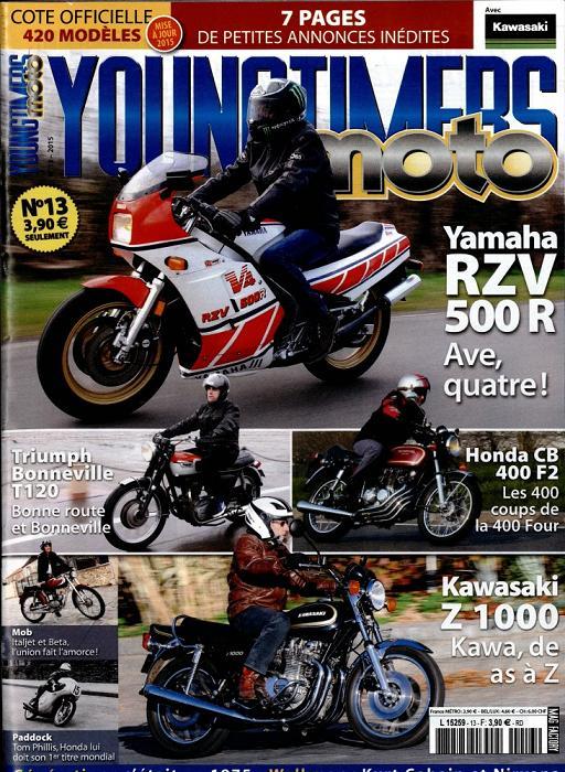 La moto de ma vie dans le magazine Youngtimers Moto L525910