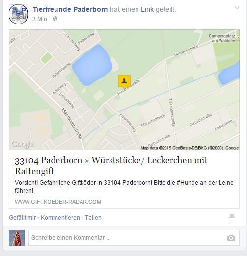 Giftköder in Paderborn Pbgift10