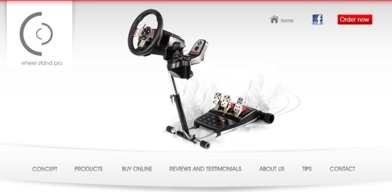 Desk for simming Wheels10